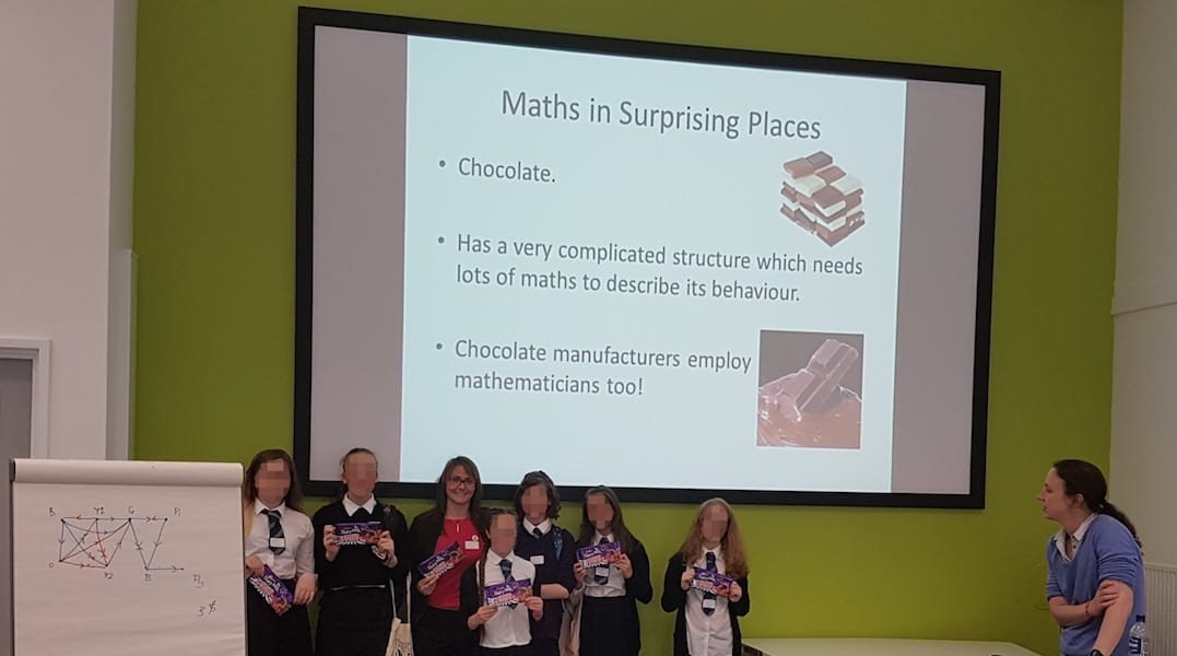 ThinkTank Maths Chocolate Lecture